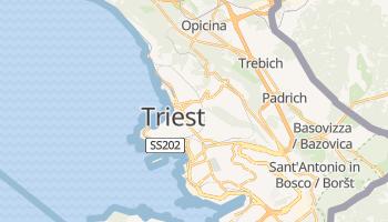 Online-Karte von Triest