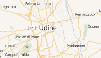 Online-Karte von Udine
