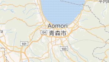 Online-Karte von Aomori