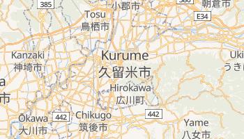 Online-Karte von Kurume