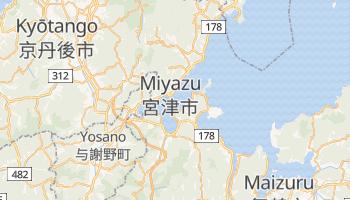 Online-Karte von Miyazu
