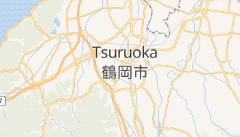 Online-Karte von Tsuruoka