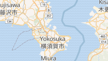 Online-Karte von Yokosuka