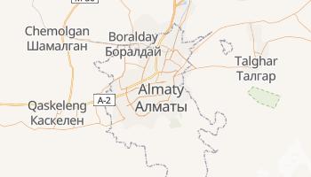 Online-Karte von Almaty