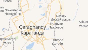 Online-Karte von Qaraghandy