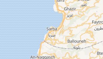 Online-Karte von Jounieh