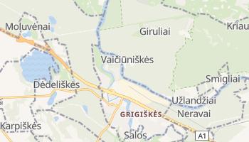 Online-Karte von Grigiškės