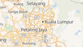 Online-Karte von Kuala Lumpur