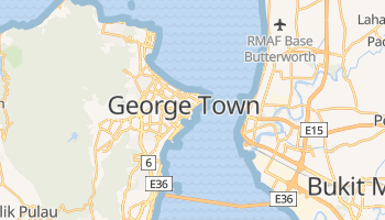 Online-Karte von Penang