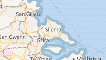 Online-Karte von Sliema
