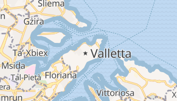 Online-Karte von Valletta