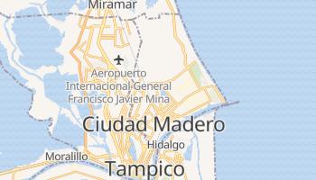 Online-Karte von Ciudad Madero