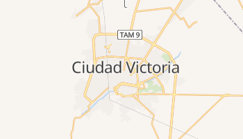 Online-Karte von Ciudad Victoria