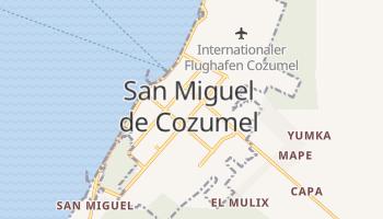 Online-Karte von Cozumel