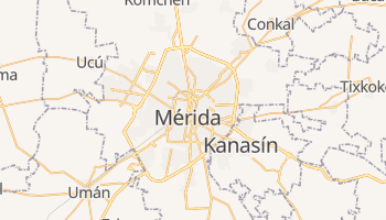 Online-Karte von Mérida