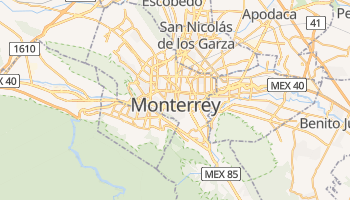 Online-Karte von Monterrey