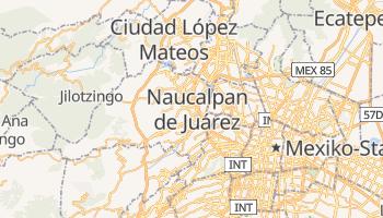 Online-Karte von Naucalpan