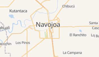 Online-Karte von Navojoa