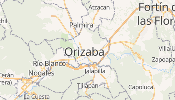 Online-Karte von Orizaba
