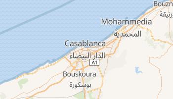 Online-Karte von Casablanca