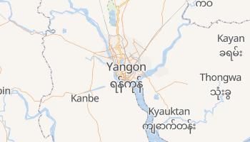 Online-Karte von Rangun