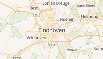 Online-Karte von Eindhoven