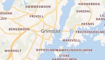 Online-Karte von Grimstad