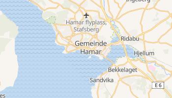 Online-Karte von Hamar
