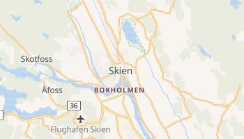 Online-Karte von Skien