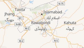 Online-Karte von Rawalpindi