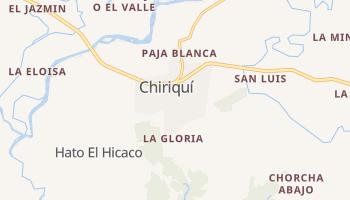 Online-Karte von Chiriquí