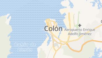 Online-Karte von Colón