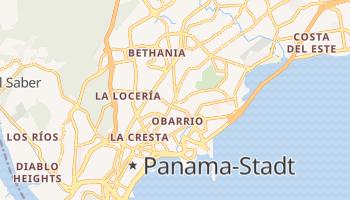Online-Karte von Panama