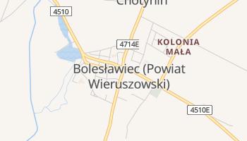 Online-Karte von Bolesławiec