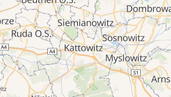 Online-Karte von Kattowitz