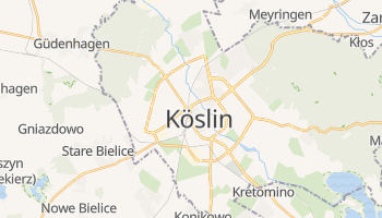 Online-Karte von Koszalin