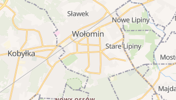 Online-Karte von Wołomin
