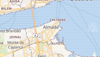 Online-Karte von Almada