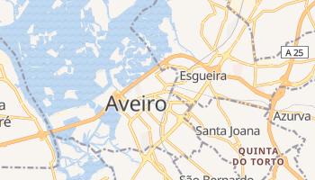 Online-Karte von Aveiro