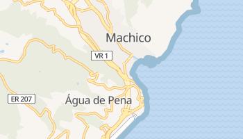 Online-Karte von Machico