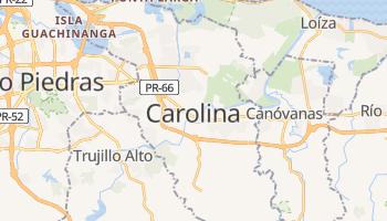 Online-Karte von Carolina