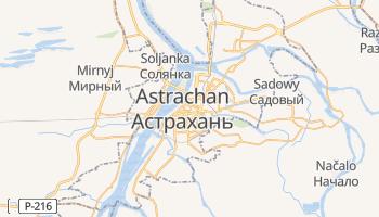 Online-Karte von Astrachan