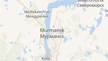 Online-Karte von Murmansk