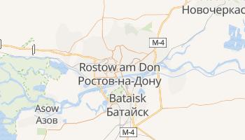 Online-Karte von Rostow am Don