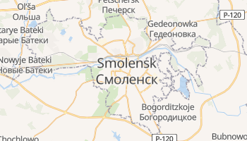 Online-Karte von Smolensk