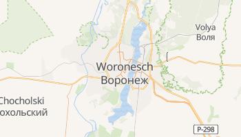Online-Karte von Woronesch