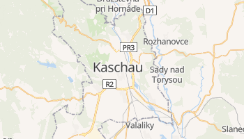 Online-Karte von Košice