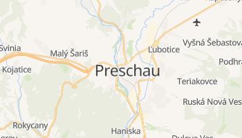 Online-Karte von Prešov