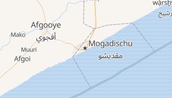 Online-Karte von Mogadischu