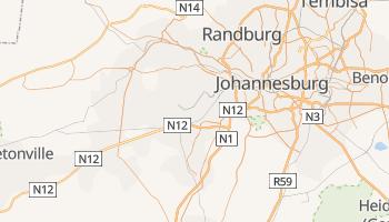 Online-Karte von Soweto